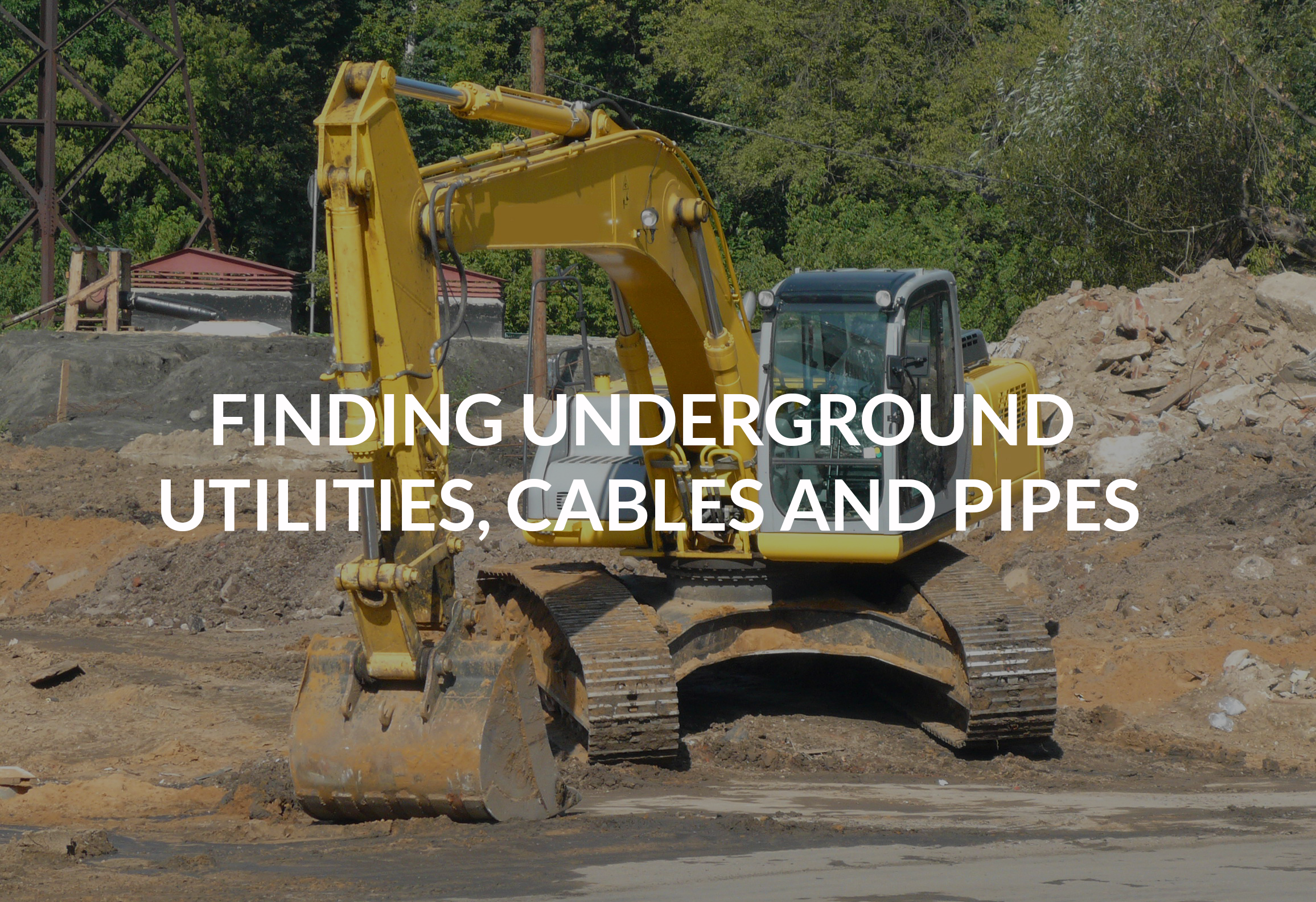 Utility Pipes And Cables : Underground utilities cables and pipes acs